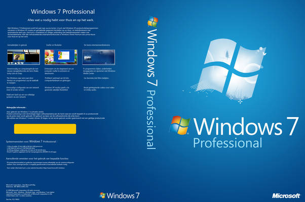 Windows 7 Professional 32/64-bit ISO Free Download