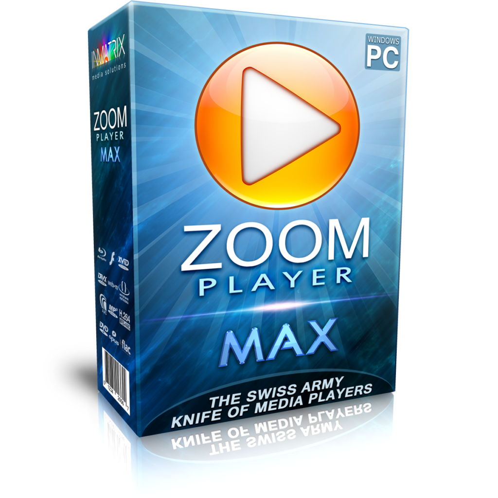 Zoom Player Max 13.7.1 Free Download