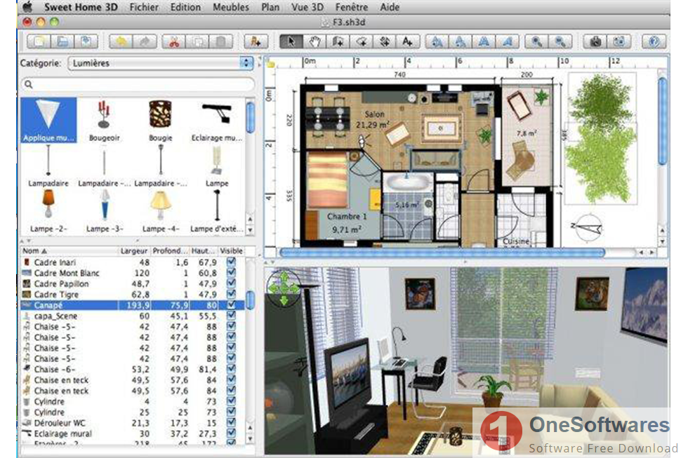 3d Home Design Software Free Download.Download Sweet Home 3d 6 2 For Windows 10 7 8 Onesoftwares