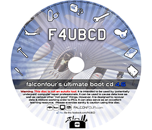 Falconfour's Ultimate Boot CD/USB 4.61