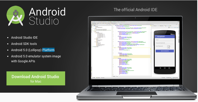 Android Studio 2.3.3 Download For MAC