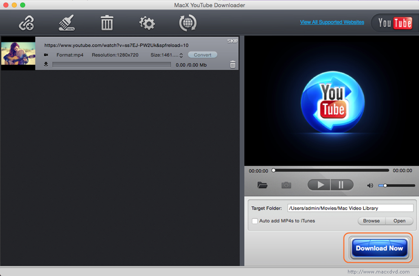 MacX Youtube Downloader free