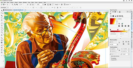 CorelDraw Graphics Suite 2017 Offline Installer ISO Download
