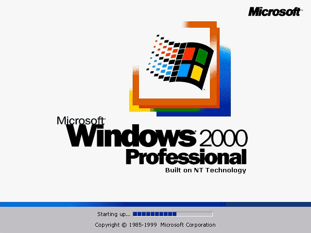 Windows 2000 ISO Free Download Desktop file