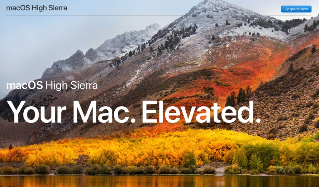 MacOS High Sierra Free Download