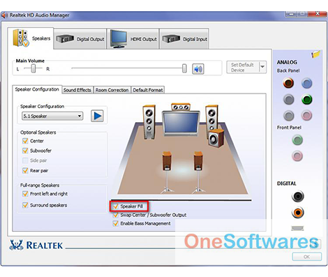 Realtek HD Audio Manager Free Download