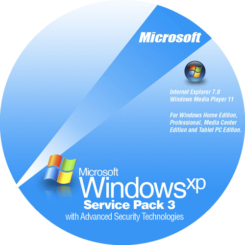 Windows XP SP3 ISO Full Version Download